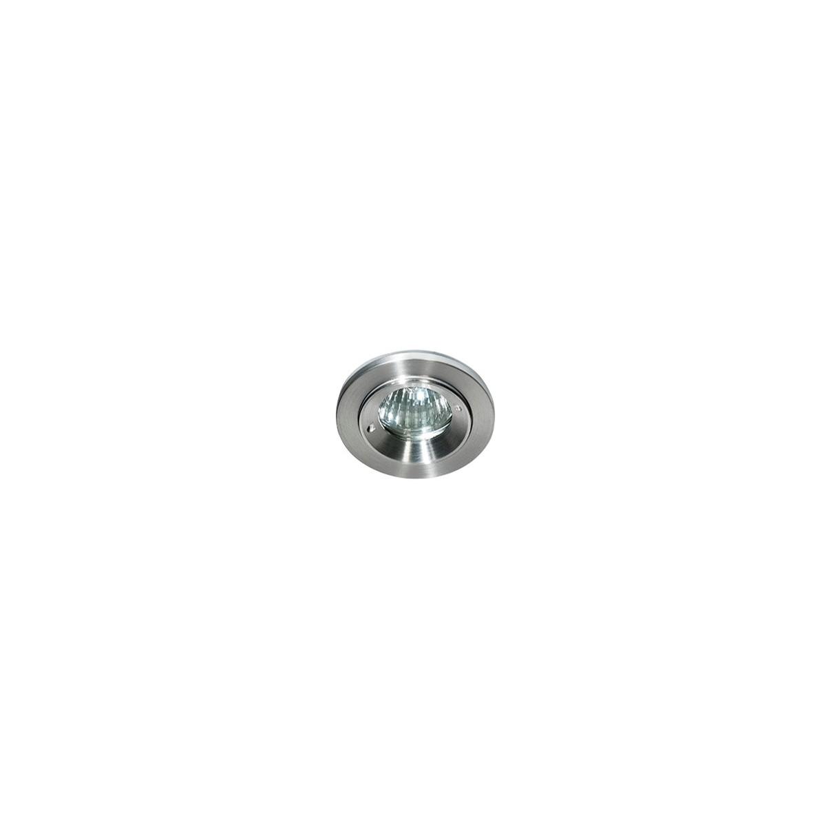 Azzardo TITO 1 ALUMINIUM 1xGU10 Wpuszczana Aluminium IP54 AZ0814