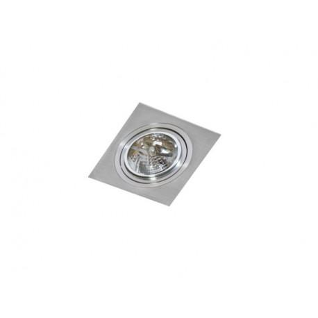 Azzardo SIRO 1 ALUMINIUM 1xES111 Wpuszczana Aluminium AZ0767