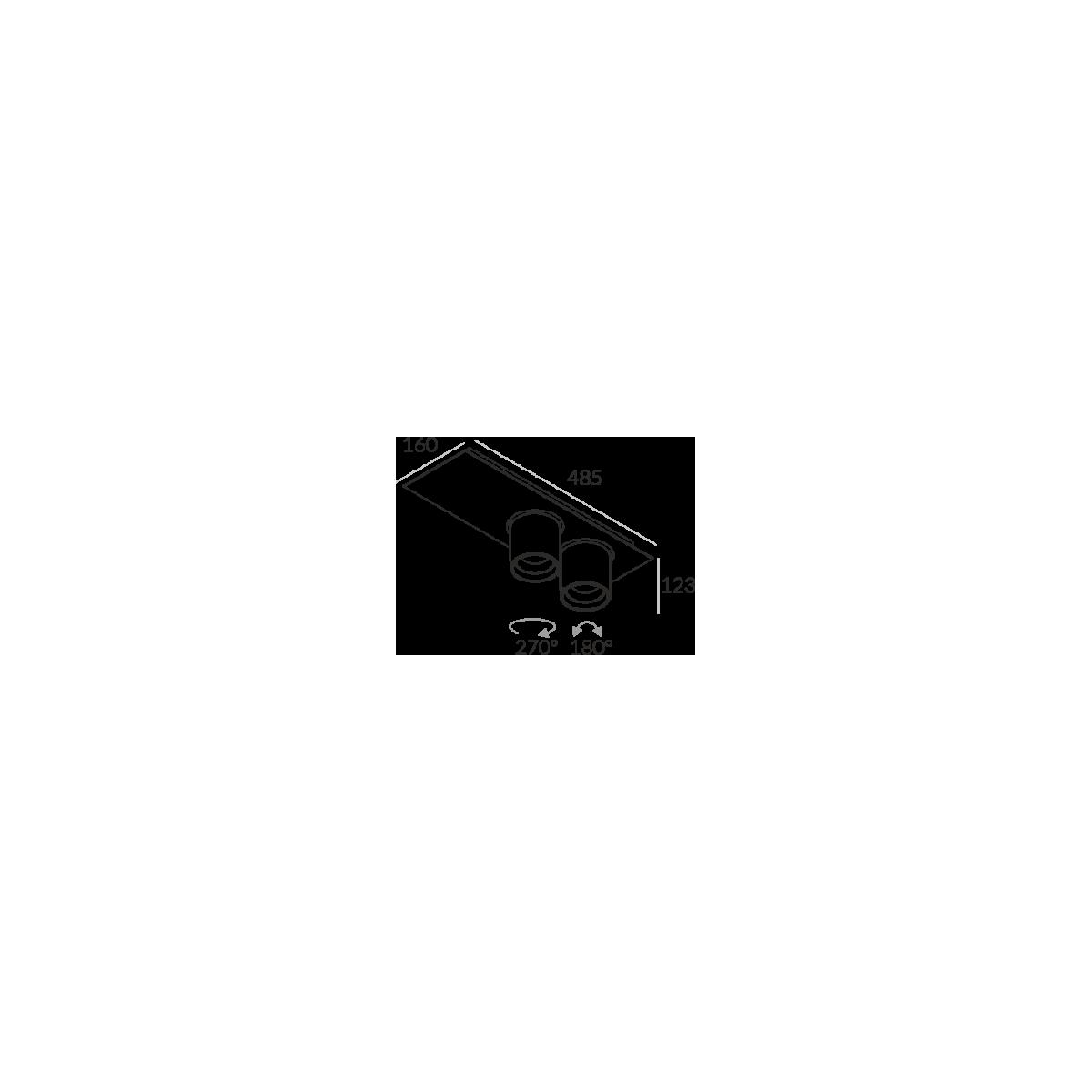 Labra Auro Base 90x2 NT 3-0549 Reflektor
