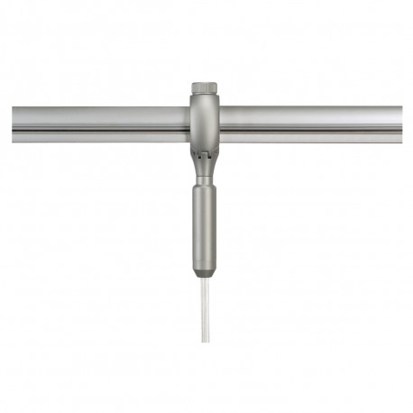 SPOTLINE/SLV Adapter do lampy wiszących do EASYTEC II. srebrnoszary 184292
