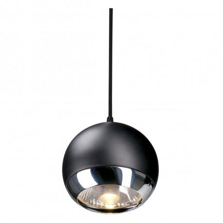 SPOTLINE/SLV LIGHT EYE PENDANT do EASYTEC II. chrom/czarny. GU10. max. 75W 185590