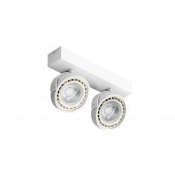 Azzardo JERRY 2 230V WHITE 2xES111 Reflektor Sufitowy Biały AZ1371