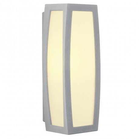 SPOTLINE/SLV MERIDIAN BOX zewnętrzna . srebrnoszary. E27. max. 25W 230044