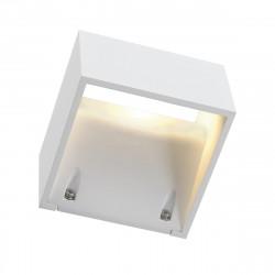 SPOTLINE/SLV LOGS WALL lampa ścienna. kwadratowa. biały. 6W LED. ciepły biały 232101