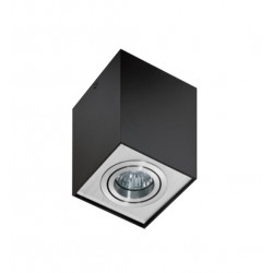 AZzardo ELOY BK/AL czarno Aluminiowa AZ0930 Sufitowa