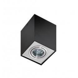 Azzardo ELOY 1 BLACK/ALUMINIUM 1xGU10 Natynkowa Czarny/Aluminium AZ0930