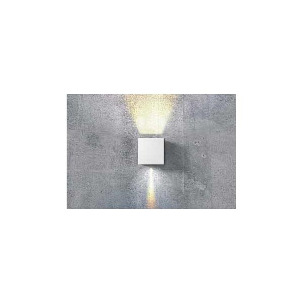 Azzardo GAMBINO WHITE 1xLED Ścienna Biały IP54 AZ0950