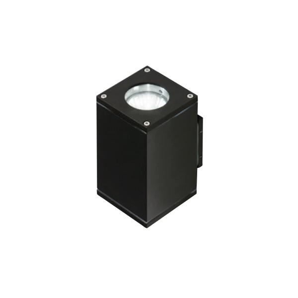 Azzardo LIVIO 2 BLACK 2xGU10 Zewnętrzna Ścienna Czarny IP54 AZ0776