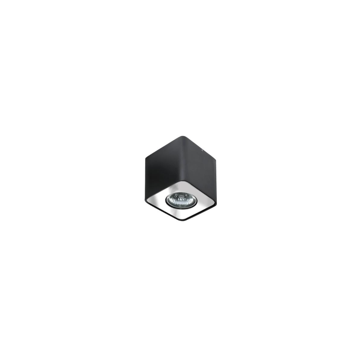 Azzardo NINO 1 BLACK/CHROM 1xGU10 Natynkowa Czarny/Chrom AZ0736