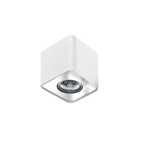 Azzardo NINO 1 WHITE / CHROME 1xGU10 Natynkowa Biały/Chrom AZ0735