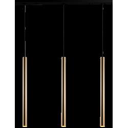 AMPLEX AKADI wisząca 3 czarny złoty 0133