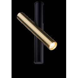 AMPLEX AKADI reflektor I czarny złoty 0129