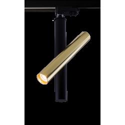 AMPLEX AKADI reflektor pod szynoprzewód I czarny złoty 0137