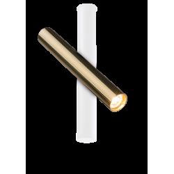 AMPLEX AKADI reflektor I biały złoty 0139