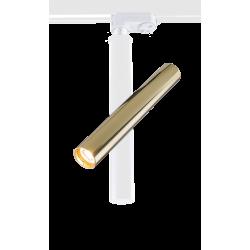 AMPLEX AKADI reflektor pod szynoprzewód I biały złoty 0147