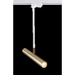 AMPLEX AKADI reflektor pod szynoprzewód biały złoty II 0148