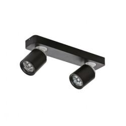 Azzardo TOMI 2 BLACK 2xGU10 Reflektor Sufitowy Czarny AZ0678