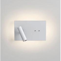 Astro Salerno LED Ścienna 8.1W LED Nikiel Polerowany IP44 1178003