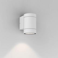 Astro Dartmouth Single GU10 Ścienna 1x6W Max LED GU10 Biały Struktura IP54 1372009