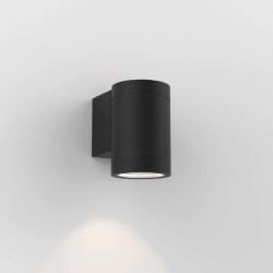 Astro Dartmouth Single GU10 Ścienna 1x6W Max LED GU10 Czarny Struktura IP54 1372011
