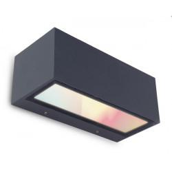 Lutec GEMINI Ścienna LED WIZ Antracyt 5189111118