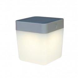 Lutec TABLE CUBE Zewnętrzna LED Srebrnoszary 6908001337
