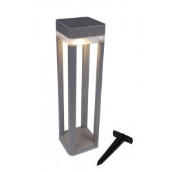 Lutec TABLE CUBE Zewnętrzna LED Srebrnoszary 6908002337