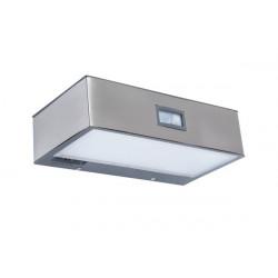 Lutec BRICK - CZUJNIK RUCHU Ścienna LED Transparent 6908501308