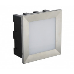 SU-MA MUR LED INOX 195lm 3000K Do zabudowy IP65 D-04