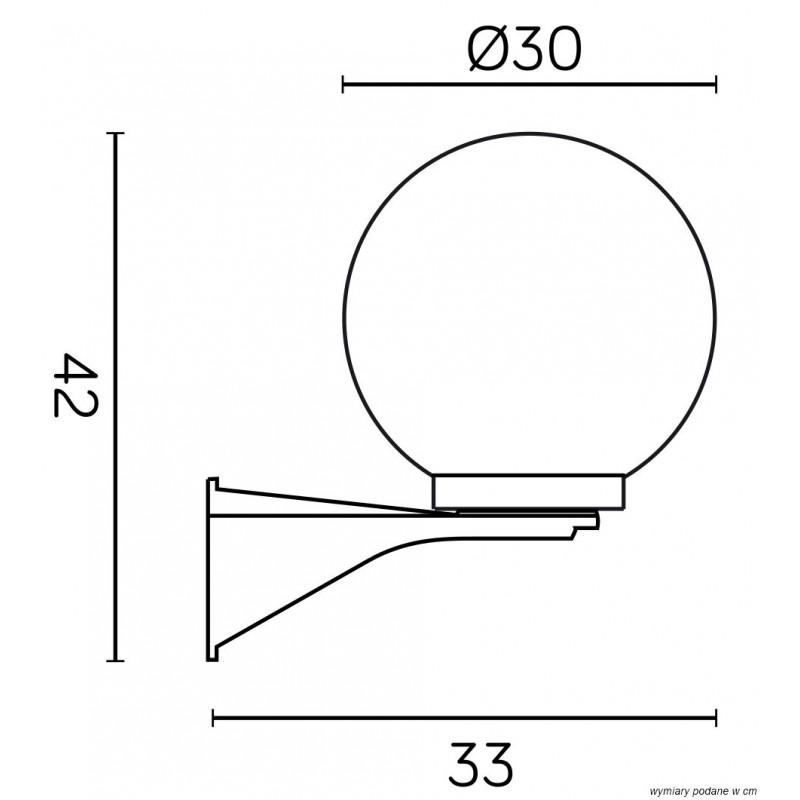 SU-MA Kule/Elipsy 60 K 3012/1/KD 300 Kinkiet