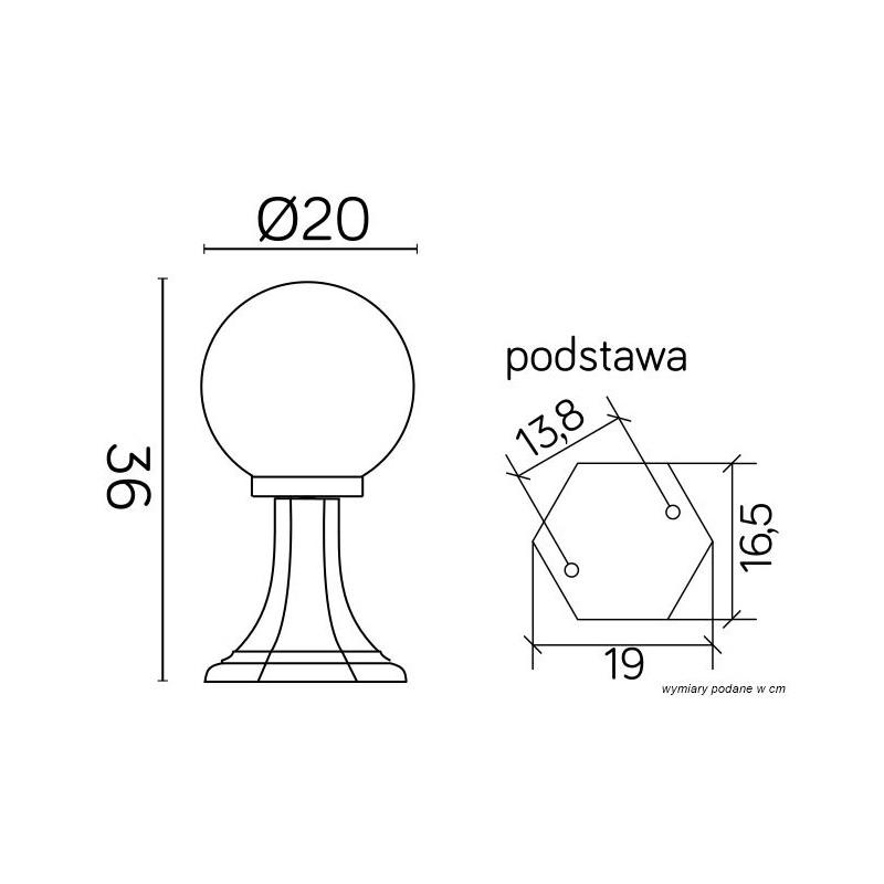 SU-MA Kule Classic K 4011/1/K 200 Stojąca