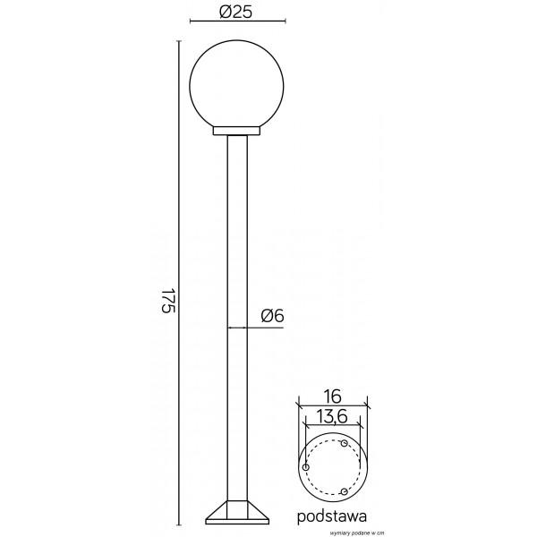 SU-MA Kule/Elipsy 60 K 5002/1/K 250 Stojąca