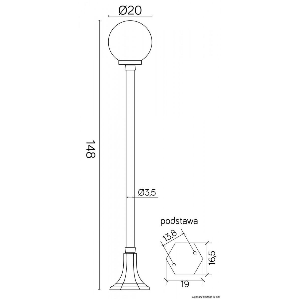 SU-MA Kule Classic K 5002/1/KP 200 Stojąca