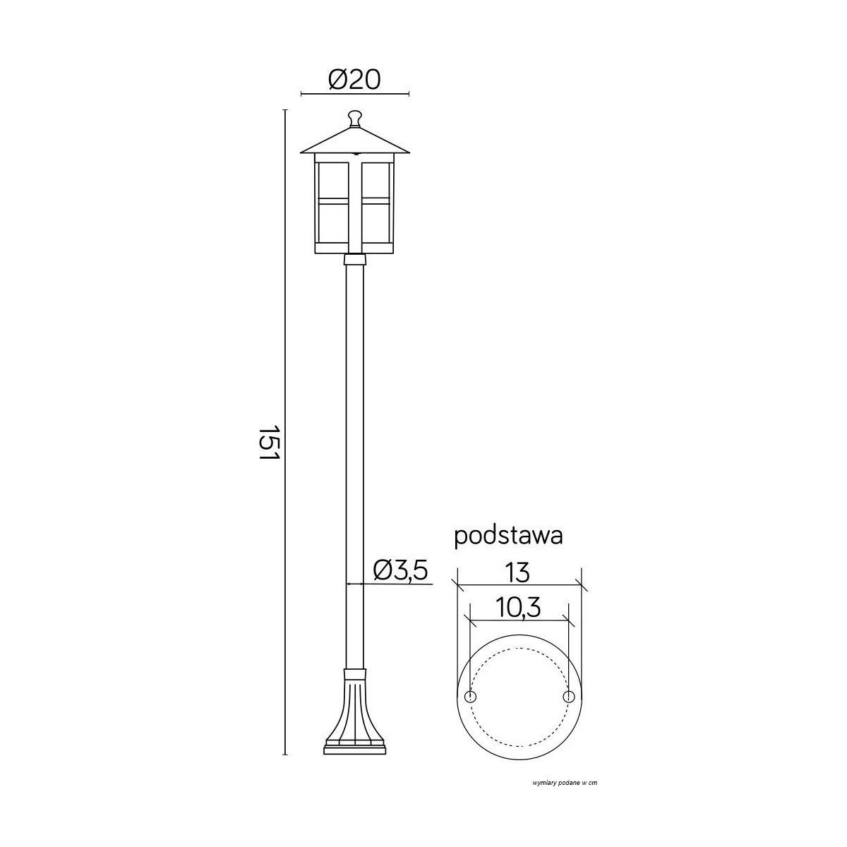 SU-MA Cordoba II K 5002/1/TD Stojąca