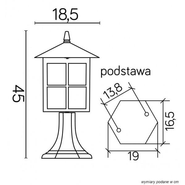 SU-MA Wenecja K 4011/1KW Stojąca