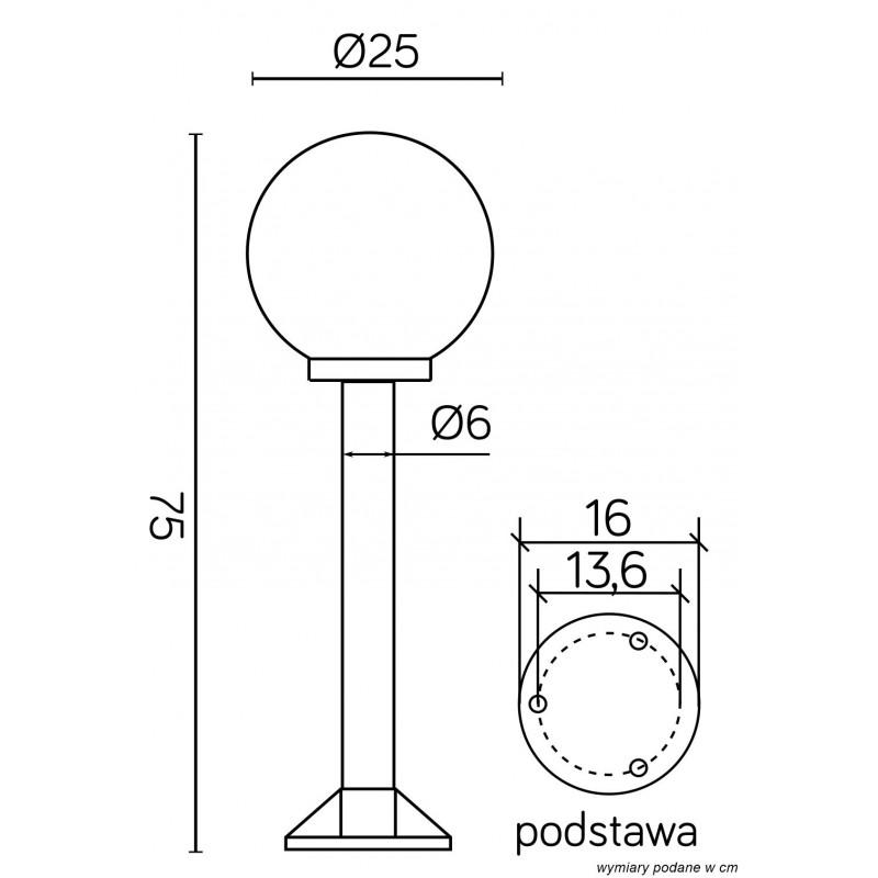 SU-MA Kule/Elipsy 60 K 5002/3/K 250 Stojaca