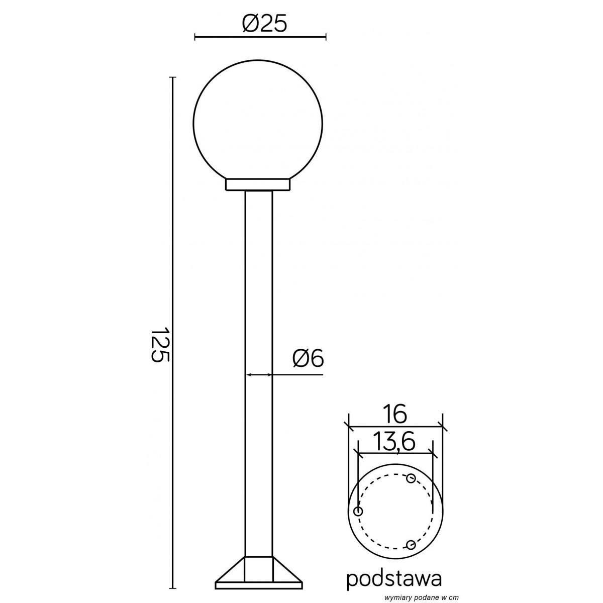 SU-MA Kule/Elipsy 60 K 5002/2/K 250 Stojaca
