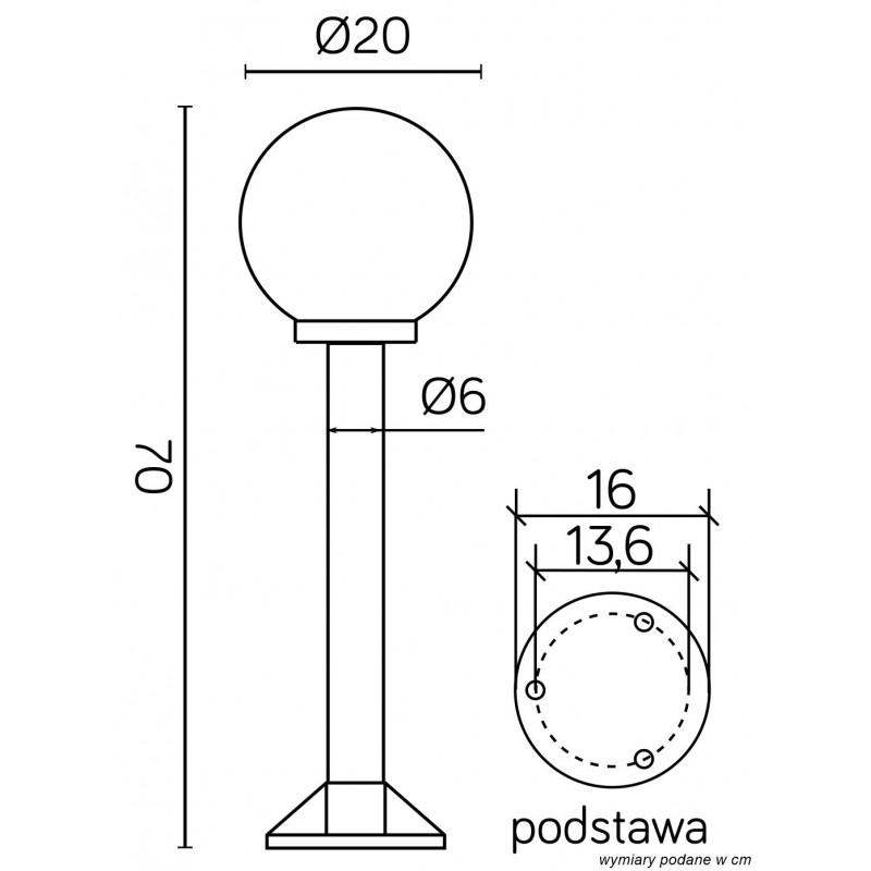 SU-MA Kule/Elipsy 60 K 5002/3/K 200 Stojaca