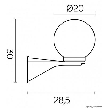 SU-MA Kule/Elipsy 60 K 3012/1/KD 200 Kinkiet