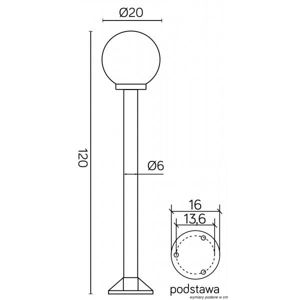 SU-MA Kule/Elipsy 60 K 5002/2/K 200 Stojaca