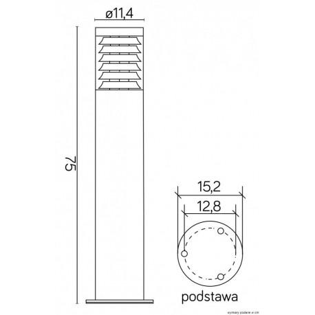 SU-MA JOY 75cm 91065L-750 Stojąca