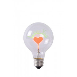 Lucide LED BULB-I LOVE 1xE27 transparentny 49037/03/60