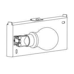 Astro Backplate 2 Ścienna 1x60W Max E27 Biały 1367002