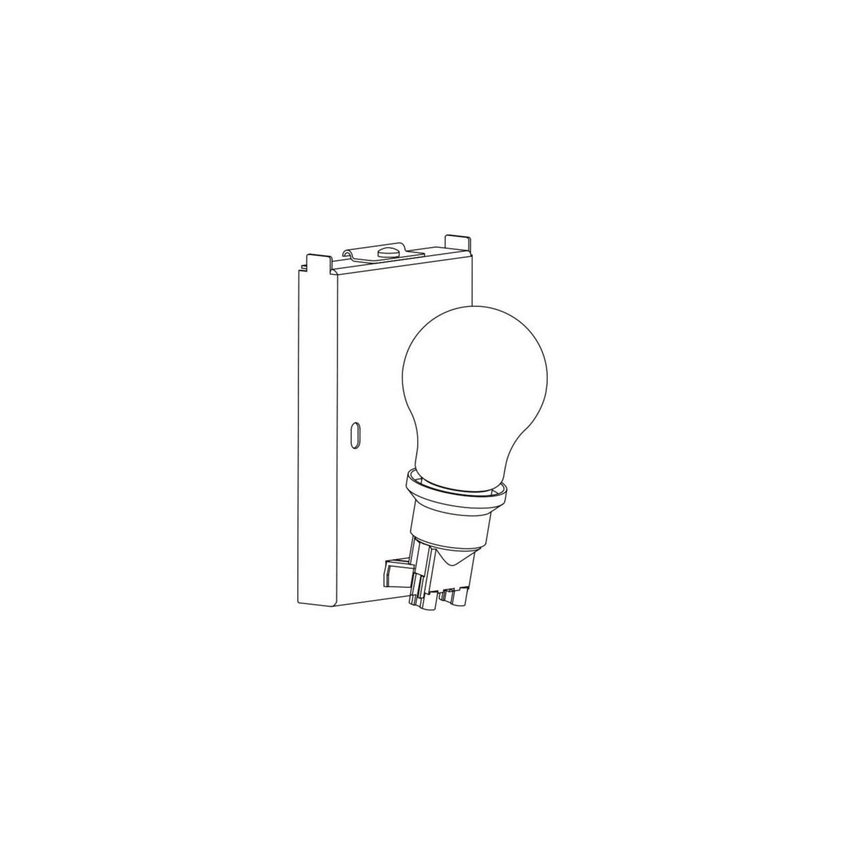 Astro Backplate 3 Ścienna 1x60W Max E27 Biały 1367003