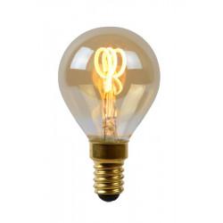 Lucide LED BULB 1xE14 burstynowy 49046/03/62
