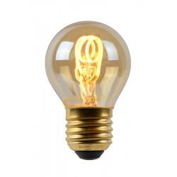 Lucide LED BULB 1xE27 burstynowy 49045/03/62