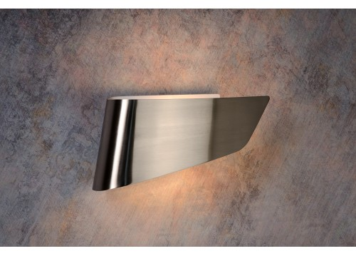 Lucide OLA E14/11W excl 31/15/8cm Satin Chrom 12203/01/12 Kinkiet