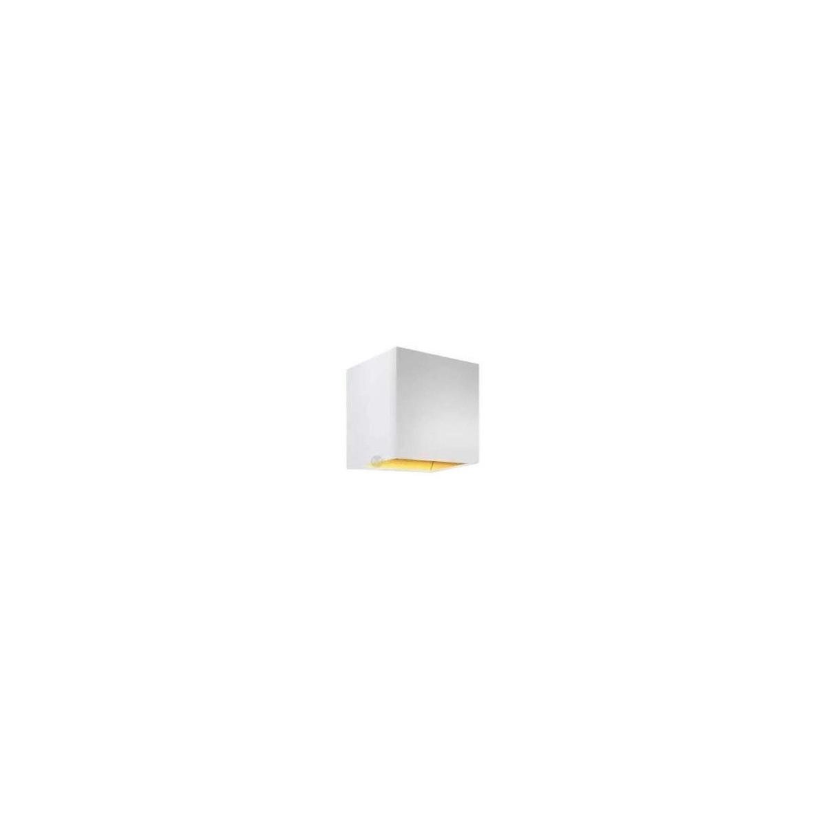 Azzardo MARS WHITE/GOLD 1xG9 Ścienna Biały/Złoty AZ1090