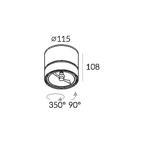 Labra GEIT NT QR111 3-0118 Reflektor