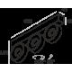 Labra IDEON 3 edge.LED 3x 7.5W 2-0722 Reflektor